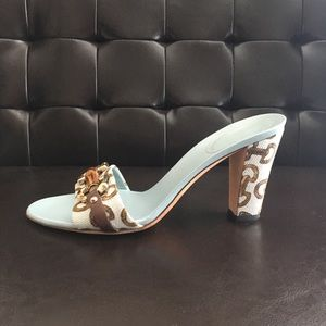 Gucci horsebit bamboo slide sandal